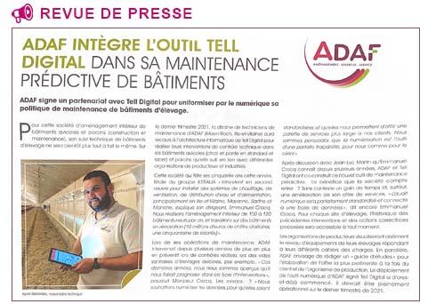 adaf-maintenance-predictive-batiment-partenariat-tell-elevage